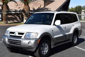 2003 Mitsubishi Montero Limited 4WD 4dr SUV SUV 4-Door Automatic 5-Speed