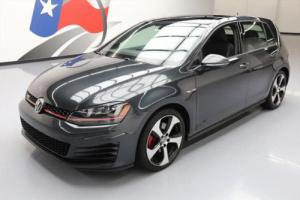 2015 Volkswagen Golf SE HTD LEATHER SUNROOF REAR CAM