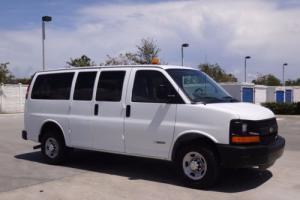 2005 Chevrolet Express Passenger Van