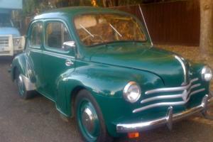 Classic Rare 1958 Renault 4CV