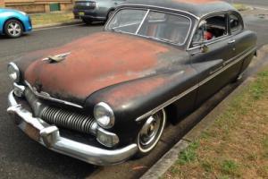 Mercury Coupe 1950. 350 Chevy, Custom Hotrod 1949 1951 Ford Leadsled 1932 1934