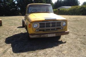 1972 International D1310 Truck Cab chassis,suit project hot rod transporter tow