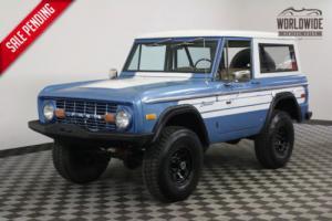 1976 Ford Bronco 4X4. ORIGINAL ONE OWNER! V8! AUTO!