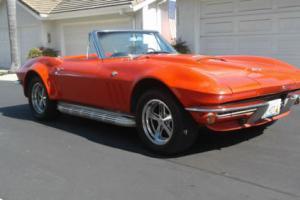 1965 Chevrolet Corvette Sting Ray Convertible 4-speed Custom L78 396
