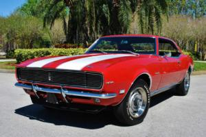 1968 Chevrolet Camaro Z28 RS 4-Speed Numbers Matching 302 V8 Very Rare!