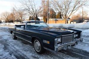 1975 Cadillac Eldorado Fleetwood