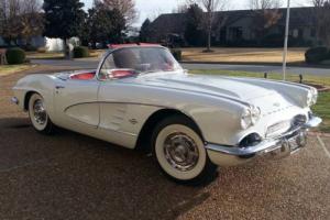 1961 Chevrolet Corvette German Export Pedigree NCRS Top Flight Bloomington