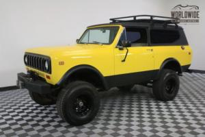1977 International Harvester Scout 345 V8 A/C AUTOMATIC CONVERTIBLE