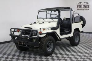 1971 Toyota Land Cruiser LIFT SNORKEL CANVAS PS PB 2F AWESOME