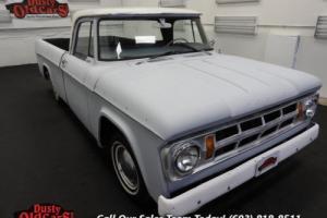 1968 Dodge Other Pickups Runs Drives Body Inter Good 318V8 3 spd auto