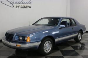 1985 Ford Thunderbird 30th Anniversary Edition