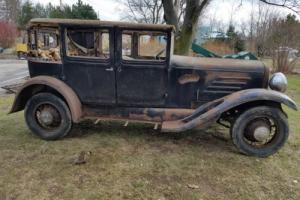 1930 Franklin Town sedan