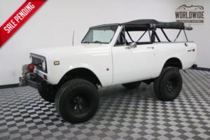1974 International Harvester Scout $30K INVESTED 400 V8 4 WHEEL DISC BRAKES