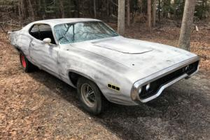 1971 Plymouth Road Runner 1971 ROADRUNNER PROJECT SOLID 383 HP AUTO NJ Photo