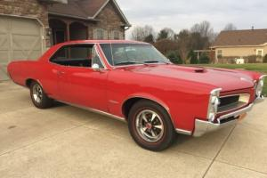 1966 Pontiac GTO 1966 gto 389 tripower 4spd