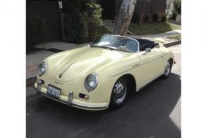 1955 Porsche SPEEDSTER --