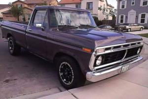 1974 Ford F-250 Long Bed with anchors