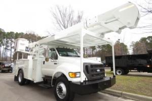 2009 Ford F-750 Bucket Truck 55' Manual CUMMINS 4x2