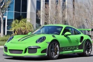 2016 Porsche 911 2dr Coupe GT3 RS