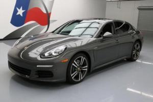 2014 Porsche Panamera PREMIUM SUNROOF NAV BOSE 20'S