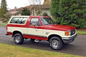 1990 Ford Bronco NO RESERVE ALL ORIGINAL 4WD