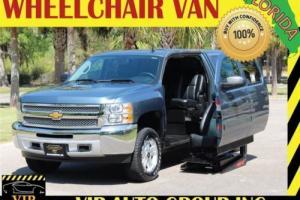 2012 Chevrolet Silverado 1500 LT Handicap Wheelchair Power Ramp
