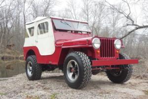 1948 Jeep CJ CJ2A