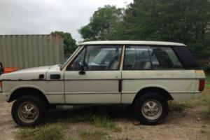 RARE 2 DOOR RANGE ROVER 1976 RUST FREE FOR RESTORATION VERY COLLECTABLE CLASSIC