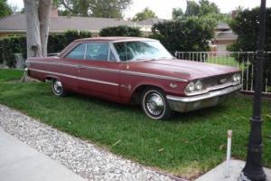 1963 FORD GALAXIE XL500 390 V8 AUTO Photo