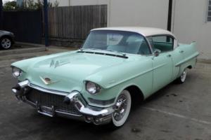 1957 CADILLAC SERIES 62 4 DOOR HARDTOP 365V8 AUTO P/STEERING P/BRAKES