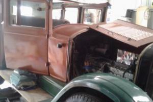 Hupmobile 1925 part restoration