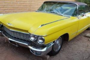 1960 Cadillac DeVille 2 DR COUPE DE VILLE
