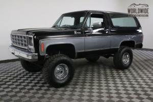 1979 Chevrolet Blazer K5 4X4 CONVERTIBLE RESTORED