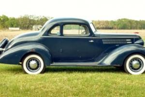 1936 Hudson Six Deluxe