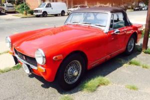 1972 MG MGB MIDGET