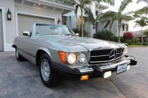 1985 Mercedes-Benz SL-Class 380SL Roadster Photo