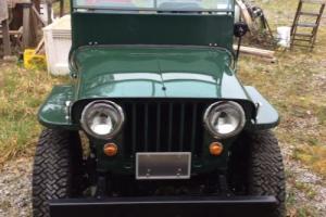 Jeep: CJ Cj-2a