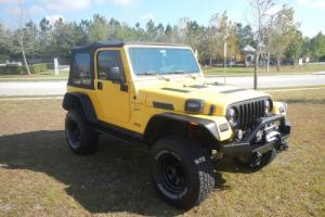 2000 Jeep Wrangler Sport 4.0L TURBO
