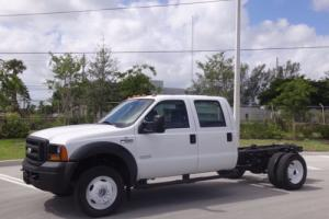 2006 Ford F-550 Cab Chassis Crew Cab