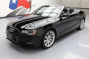 2015 Audi A5 2.0T PREMIUM PLUS CONVERTIBLE AWD NAV