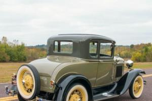 1930 Ford Model A Model A Five-Window Coupe