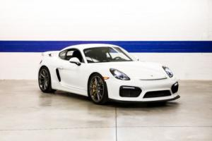 2016 Porsche Cayman 2016 Porsche GT4 (LWB, PCCB) - Single Owner, California Car