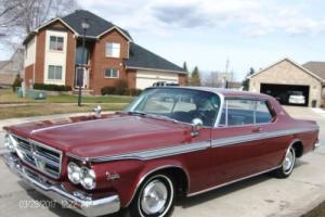 1964 Chrysler 300 Series 383 V8 coupe hardtop    66,206 actual