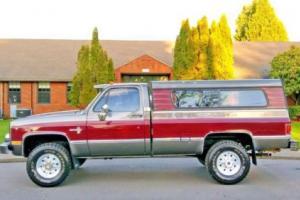 1981 Chevrolet C/K Pickup 3500 K-30 4WD