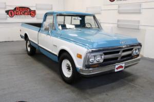1971 GMC 2500 Custom Camper Runs Drives Body Int Good 350V8 3 spd auto