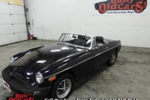 1980 MG MGB Runs Drives Body Inter Good Needs minor work Photo