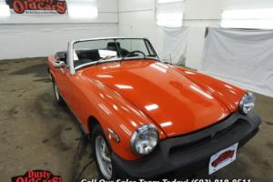 1979 MG Midget Runs Drives Body Inter VGood 1.5L I4 4 spd