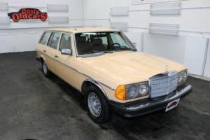 1980 Mercedes-Benz 300TD Runs Drives Body Int Good 3L 5 cyl 4 spd auto