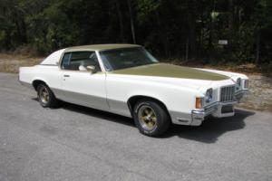 1972 Pontiac Grand Prix SSJ Hurst