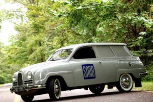 "1962 Saab Other 95 ""Bullnose"" Panel Van Photo"